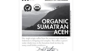 Boyd's Organic Sumatran Aceh