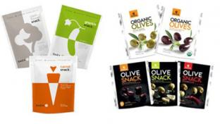 Gaea Veggie & Olive Snacks