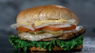 Rutter's turkey burger