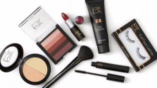 Cosmetic items in 7-Eleven's Simply Me Beauty line
