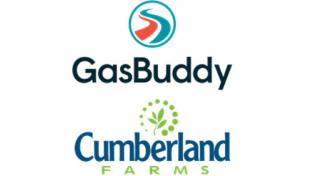 GasBuddy and Cumberland Farms logos