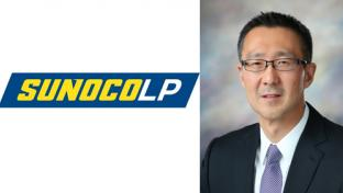 Joe Kim headshot with Sunoco LP logo