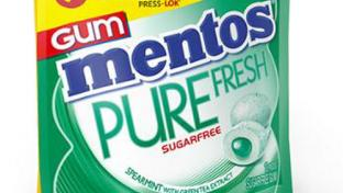 Mentos Pure Fresh Gum Wallet