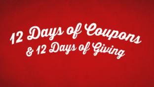 CEFCO's 12 Days of Coupons & 12 Days of Giving campaign