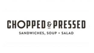 Chopped & Pressed by Gas Land logo