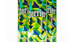 Perrier's New Limited-Edition Packaging