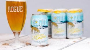 Yellow Snow Spruce Tip Pilsner