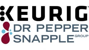 Keurig & Dr Pepper Snapple Group logos
