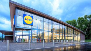 A Lidl discount grocery location
