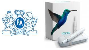 PMI's iQOS tobacco product
