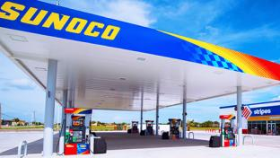 A Sunoco Stripes location