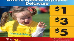 Wawa Special Olympics support logo