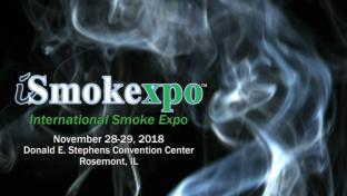 Flyer for International Smoke Exposition