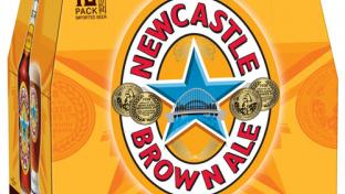 Newcastle Brown Ale New Look