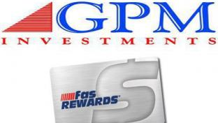 GPM logo & fas Rewards card