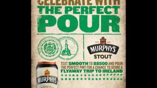 Murphy's Stout 'Celebrate with the Perfect Pour'