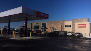 The re-opened Pilot Travel Center in Remington, Ind.