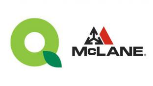 Logos for QuickChek Corp. and McLane Co. Inc.