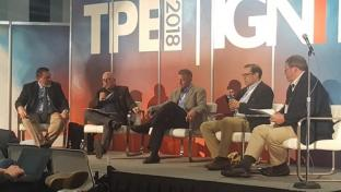 The retailer panel for Winning in the New Tobacco World at Tobacco Plus Expo