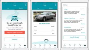GasBuddy Car Profile Feature