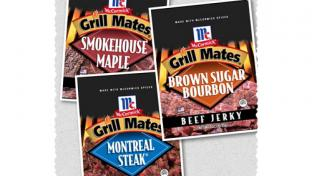 McCormick Grill Mates Beef Jerky and Steak Bites