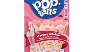 Pop-Tarts Frosted Strawberry Milkshake