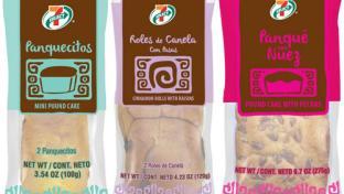 7-Eleven Hispanic bakery items