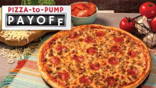 Casey's General Stores pizza-to-pump promotion