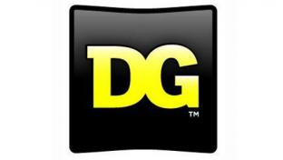Dollar General logo on black background