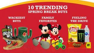 Pilot Flying J top 10 items during spring break