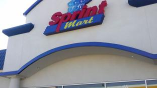 the exterior of a Sprint Mart convenience store