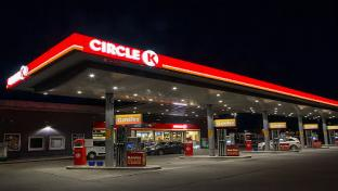 Circle K forecourt with miles fuel offer