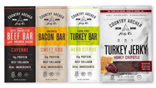 Country Archer Jerky Co.  Meat Bar Line