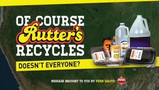 Rutter's recycles