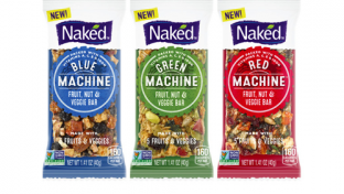 Naked Fruit, Nut & Veggie Bars