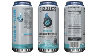 7-Eleven Fizzics cold brew canned coffee