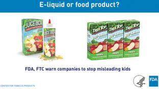 The FDA and FTC teamed up in late 2017 to investigate tobacco product labeling and advertising.