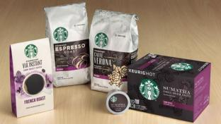 Starbucks packaged coffee
