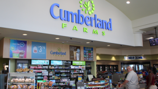 Cumberland Farms store checkout area