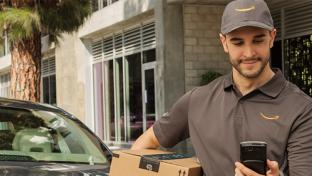 Amazon delivery man