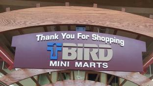 T-Bird Mini Marts banner