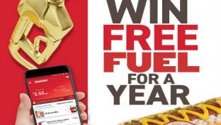 Thornonts Johnsonville Free Fuel For a Year Sweepstakes