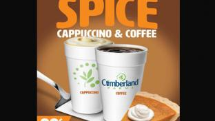 Cumberland Farms pumpkin spice 2018