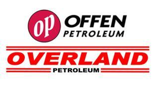 Logos for Offen Petroleum and Overland Petroleum