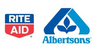 Rite Aid and Albertsons Logos