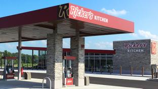 Ricker's new flagship store