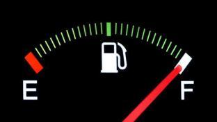 Full fuel gauge