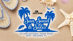 McLane National Trade Show 2018 logo