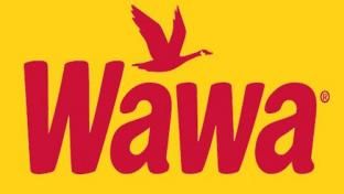 Wawa logo on yellow background