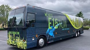 Growth Energy's E15 Now bus